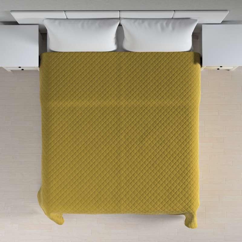 Ágytakaró káró szteppeléssel a kollekcióból Velvet  Lakástextil, Dekoranyag: 704-27