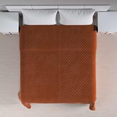 Prehoz prešívaný do kosoštvorcov V kolekcii Velvet, tkanina: 704-33