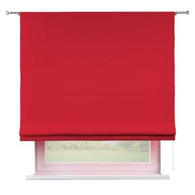 Liftgardin Torino<br/>Med løpegang til gardinstang 702-04 Rød Kolleksjon Cotton Panama