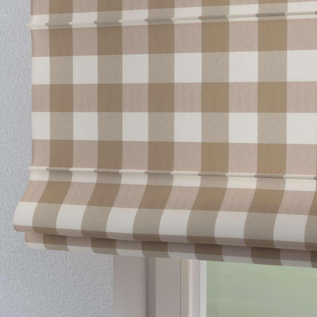 Roleta rzymska Torino 130×170cm w kolekcji Quadro, tkanina: 136-08