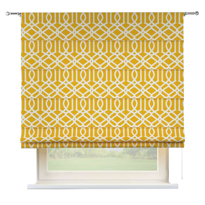 Torino slot roman blind in collection Comics/Geometrical, fabric: 135-09