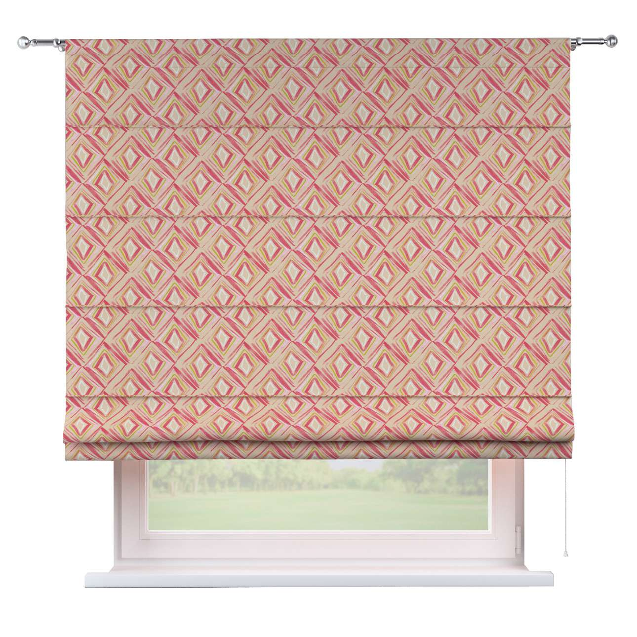 Torino slot roman blind in collection Londres, fabric: 140-45