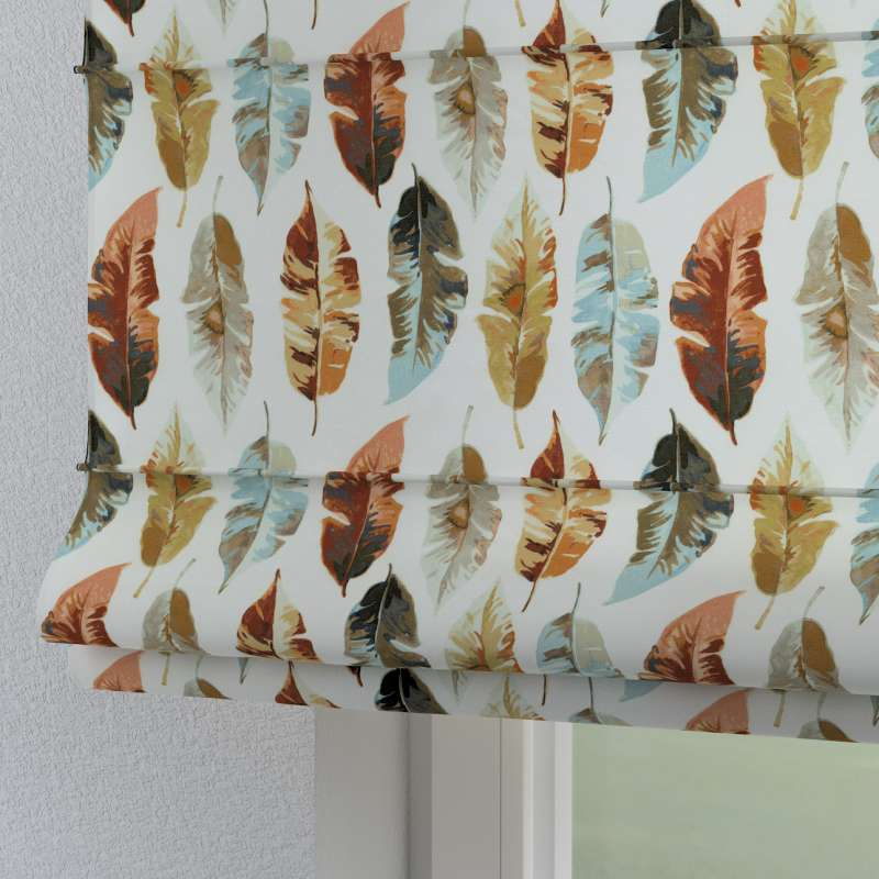 Torino slot roman blind in collection Tropical Island, fabric: 141-43
