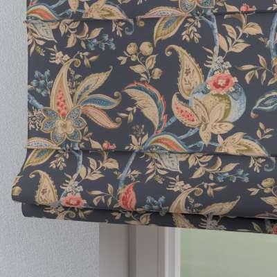 Foldegardin Torino<br/>Med løbegang til gardinstang 142-19 Naturhvid med print Kollektion Gardenia