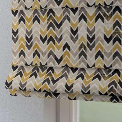 Foldegardin Torino<br/>Med løbegang til gardinstang 142-79 Naturhvid med print Kollektion Modern