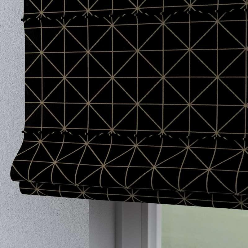 Rímska roleta Torino V kolekcii Black & White, tkanina: 142-55