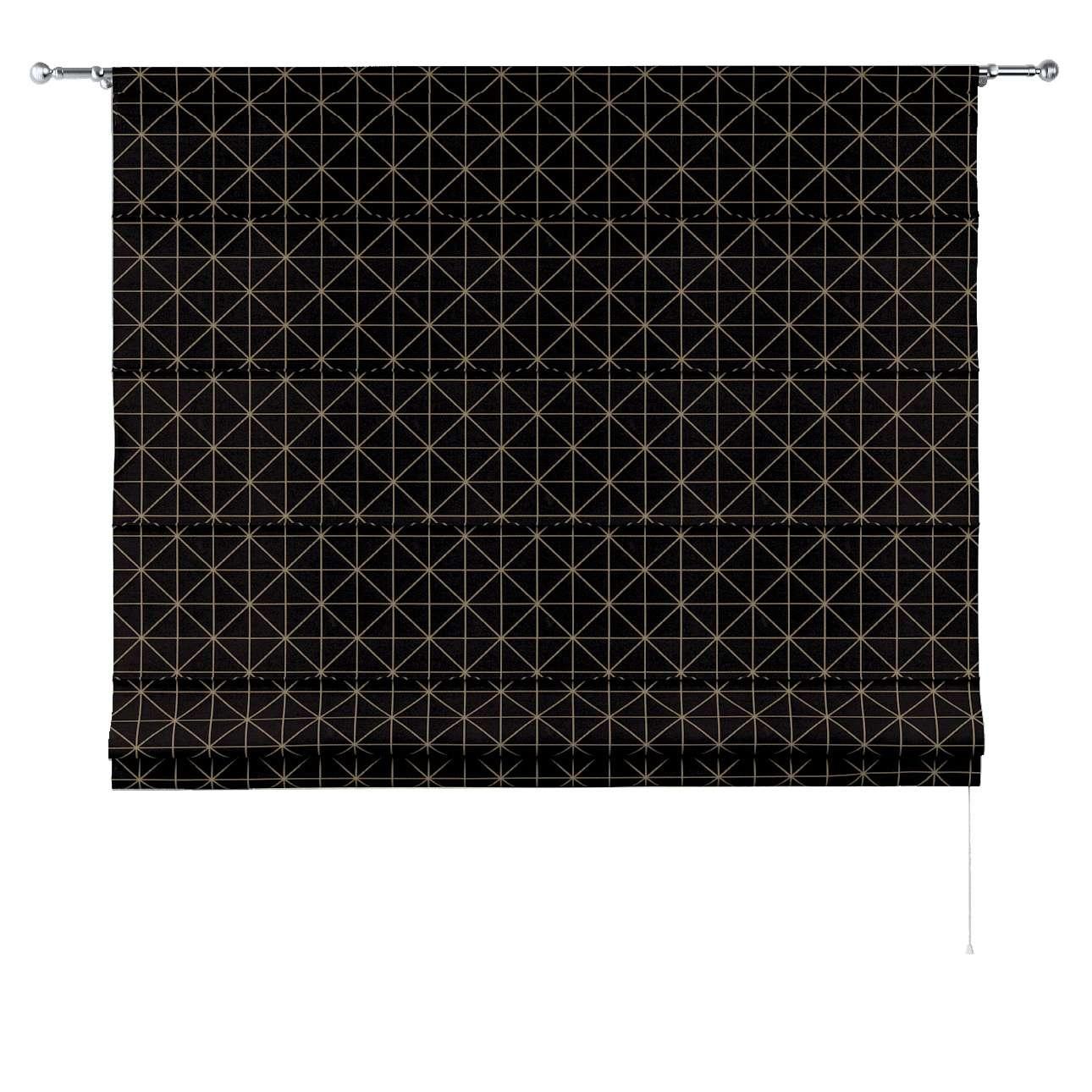 Roleta rzymska Torino w kolekcji Black & White, tkanina: 142-55
