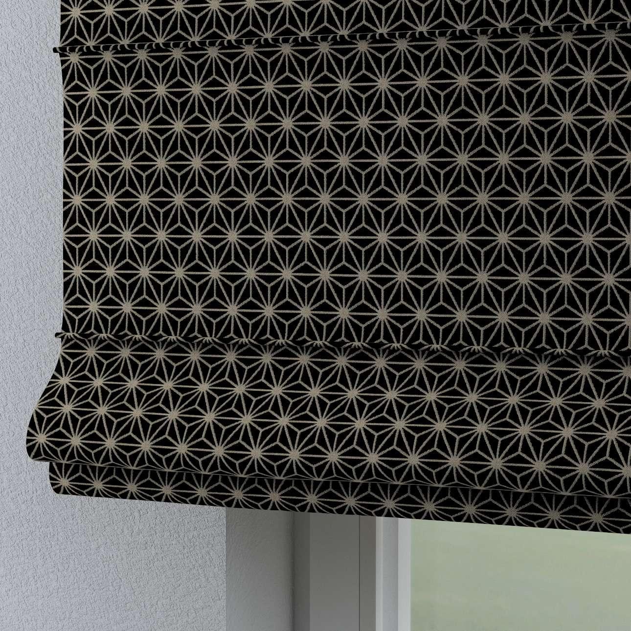 Rímska roleta Torino V kolekcii Black & White, tkanina: 142-56