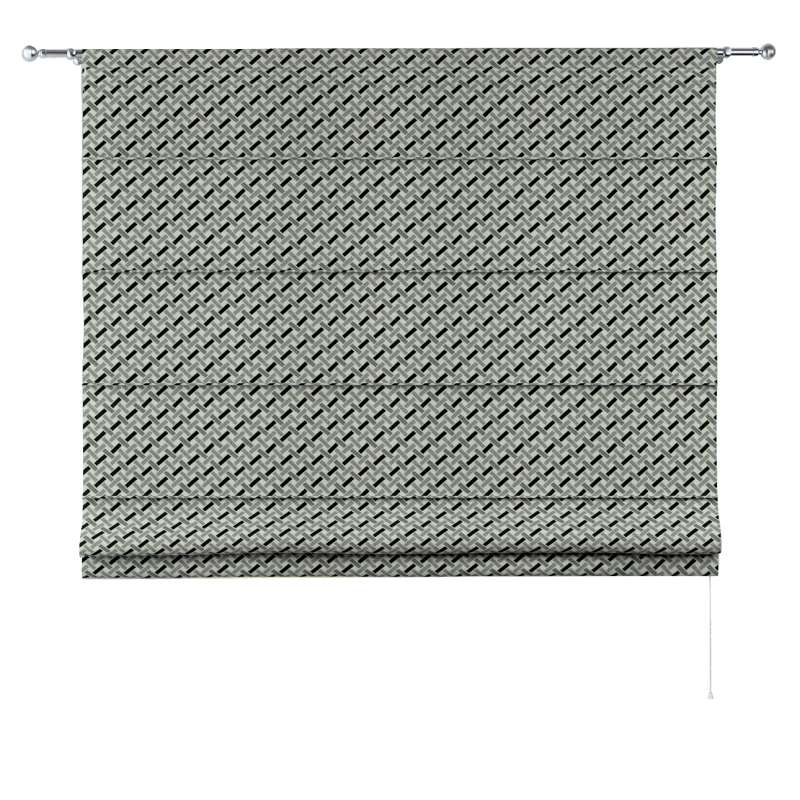 Torino slot roman blind in collection Black & White, fabric: 142-78