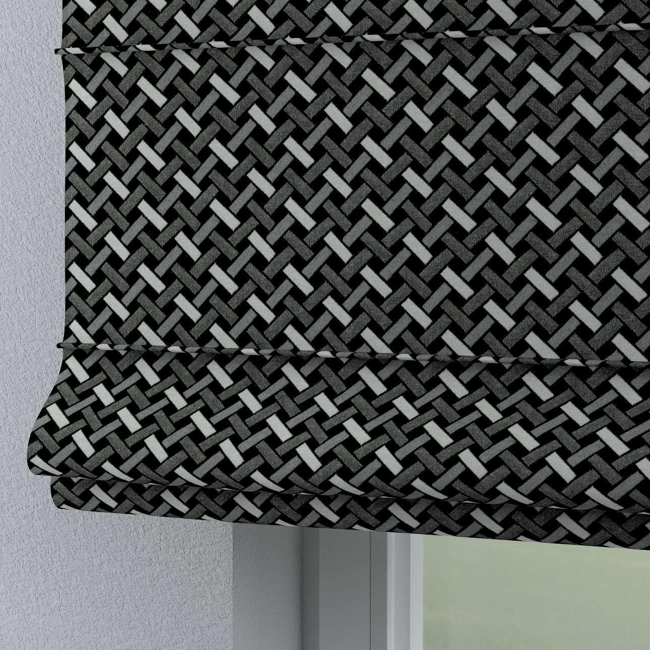 Rímska roleta Torino V kolekcii Black & White, tkanina: 142-87