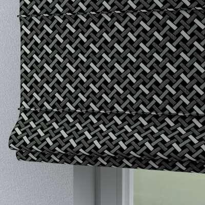 Roleta rzymska Torino 142-87 czarno-biały Kolekcja Black & White