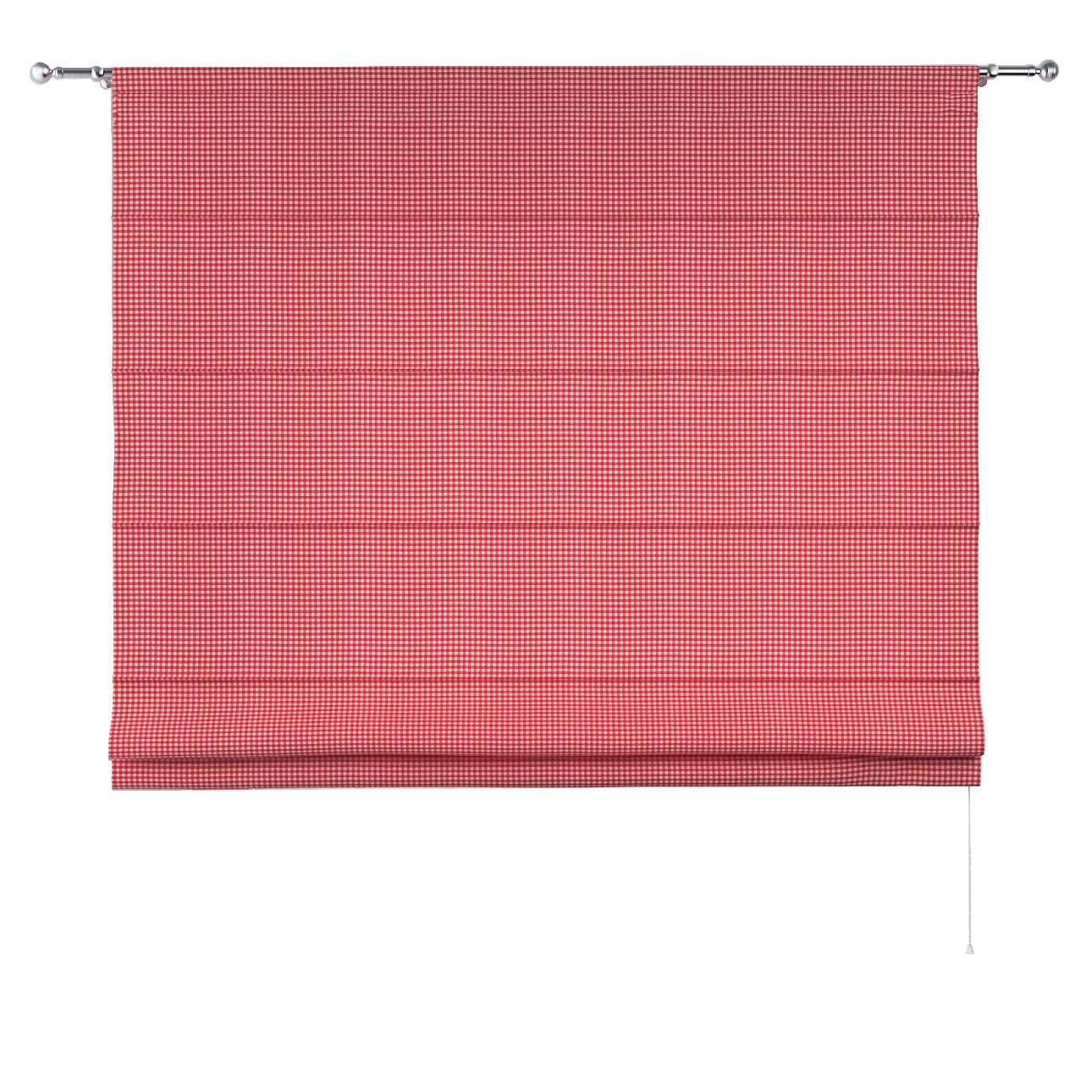 Foldegardin Torino<br/>Med løbegang til gardinstang fra kollektionen Quadro II, Stof: 136-15