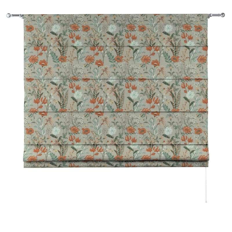 Rímska roleta Torino V kolekcii Flowers, tkanina: 143-70