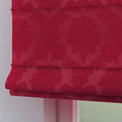 Rímska roleta Torino 613-13 bordová tkanina s vytkaným ornamentom  Kolekcia Damasco