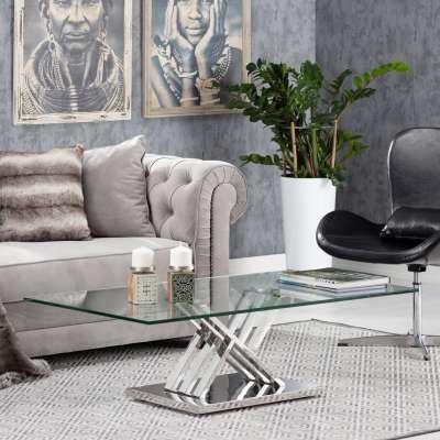 Ława Escada 130x70x38cm Meble glamour - Dekoria.pl