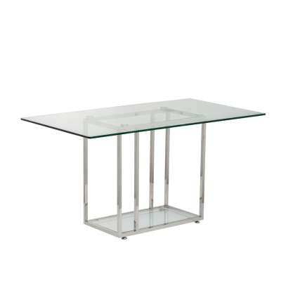 Stůl pracovní 140x80x74cm, skleněná deska Psací stoly, boční stolky a konzoly - Dekoria-home.cz