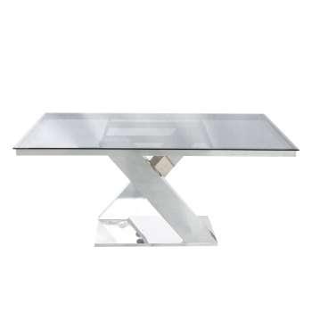 Stół Claire ivory white 90x160x75cm