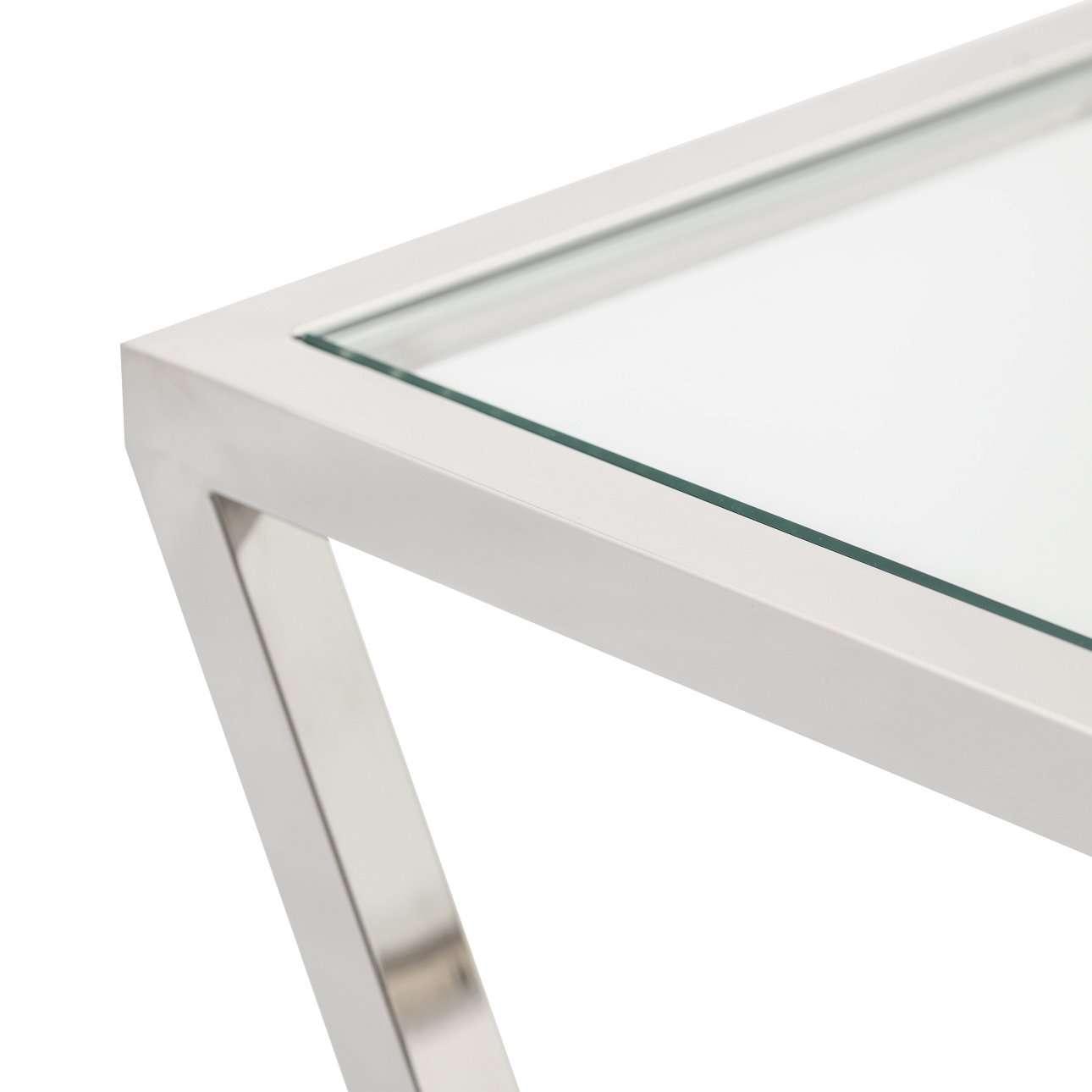 Boční stolek - konzole Vertigo silver 120x40x80cm