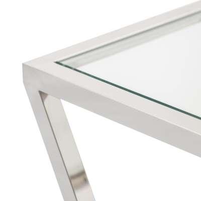 Konsola Vertigo silver 120x40x80cm