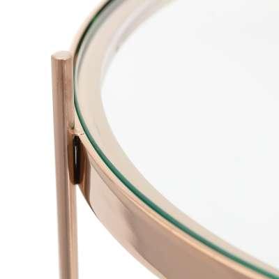Beistelltisch Sensi rose gold 48x60cm