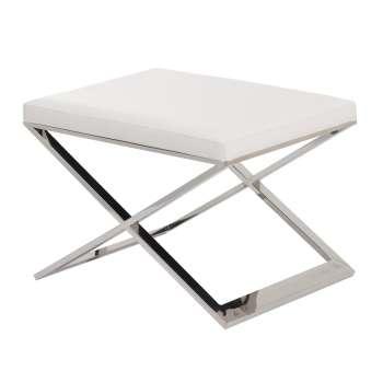Podnóżek Santori 59x43x41cm white