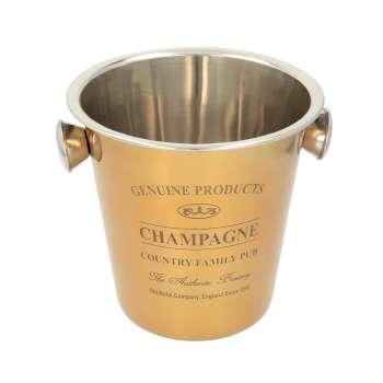 Champagnerkühler Genuine gold