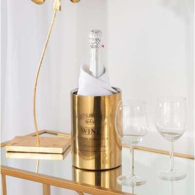 Weinkühler Genuine gold Weinständer - Dekoria.de