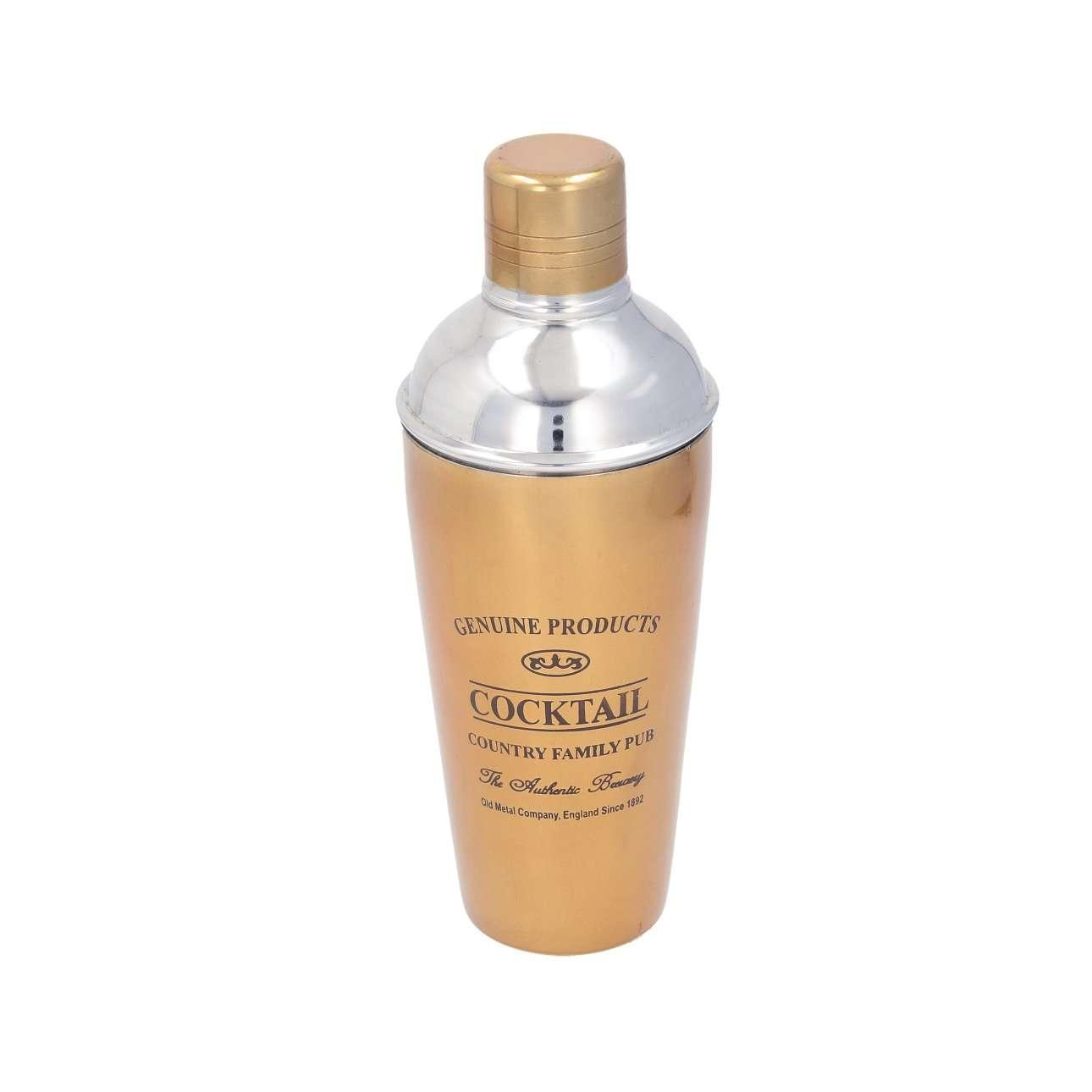 Shaker na koktejly Genuine gold
