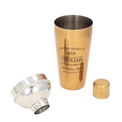 Shaker do koktajli Genuine gold