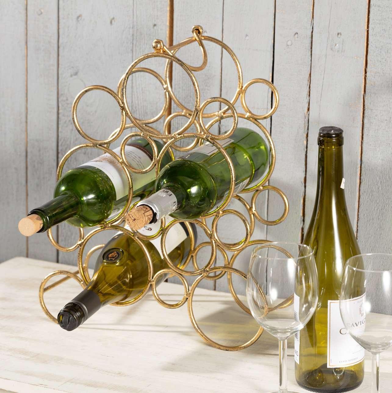Stojak na wino Bubbly wys. 38cm
