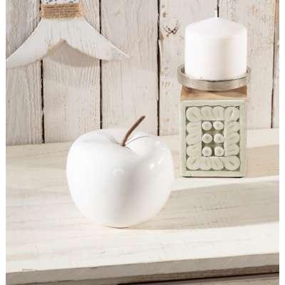 Dekoracja Fruit white 11cm
