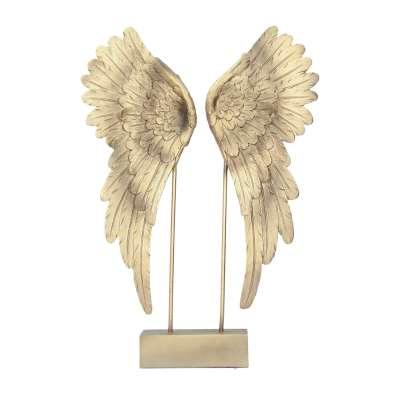 Dekoracja Angel Wings gold