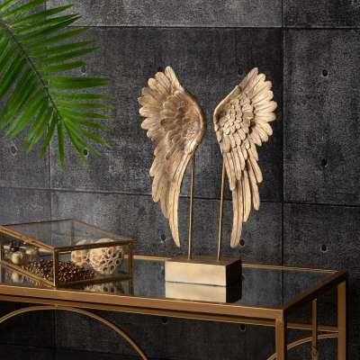 Ornament Angel Wings gold Ornamenten en beelden - Dekoria.nl