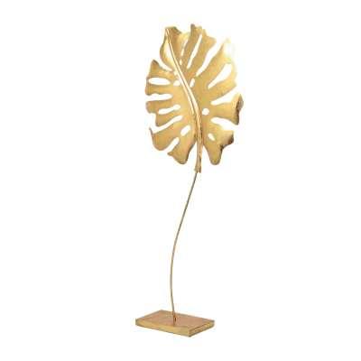 Ornament Golden Leaf I 68cm Ornamenten en beelden - Dekoria.nl