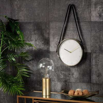 Wall Clock Center Style 31cm Home Furnishings & Decorations - Dekoria.co.uk