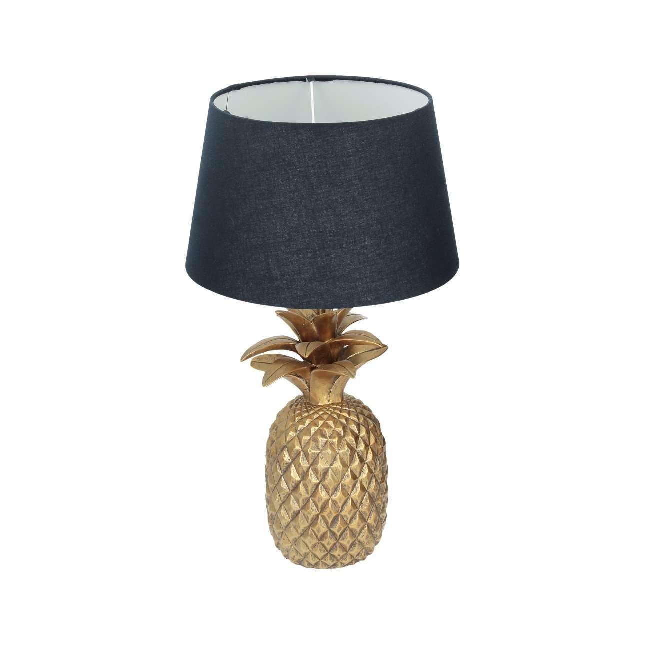 Tischlampe Pineapple gold 56cm