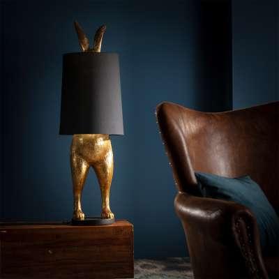 Lamp Rabbit Gold 117cm Tafellampen - Dekoria.nl