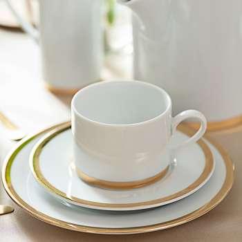 Kávový porcelánový servis Felicia 6osob / 21 dílů