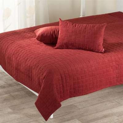 Komplet Maroon narzuta i poduszki 135 x 210 cm