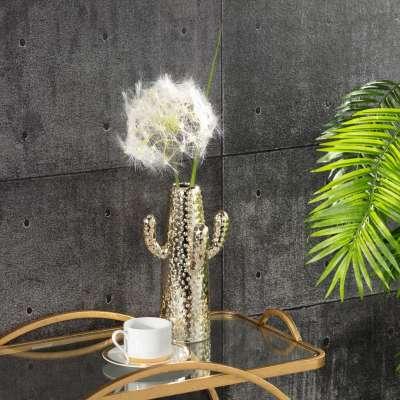 Vase Sahara gold 29cm Wohnaccessoires - Dekoria.de