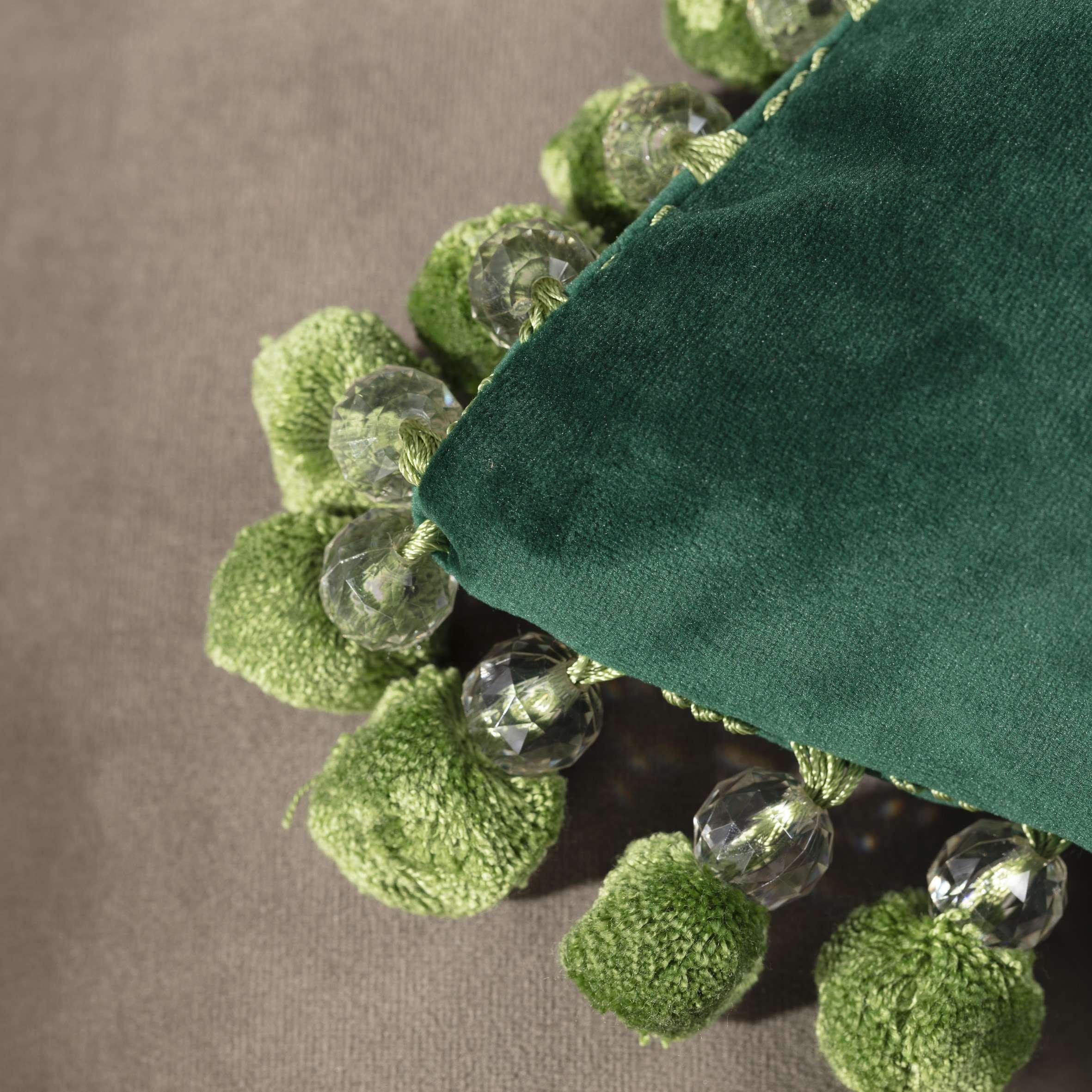 Poszewka Glamour 43 x 43 cm w kolekcji Velvet, tkanina: 704-13