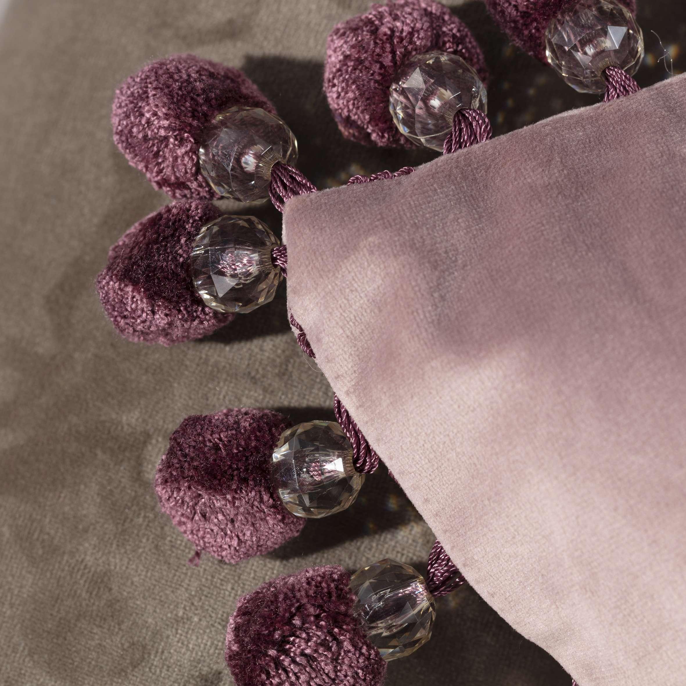 Poszewka Glamour 43 x 43 cm w kolekcji Velvet, tkanina: 704-14