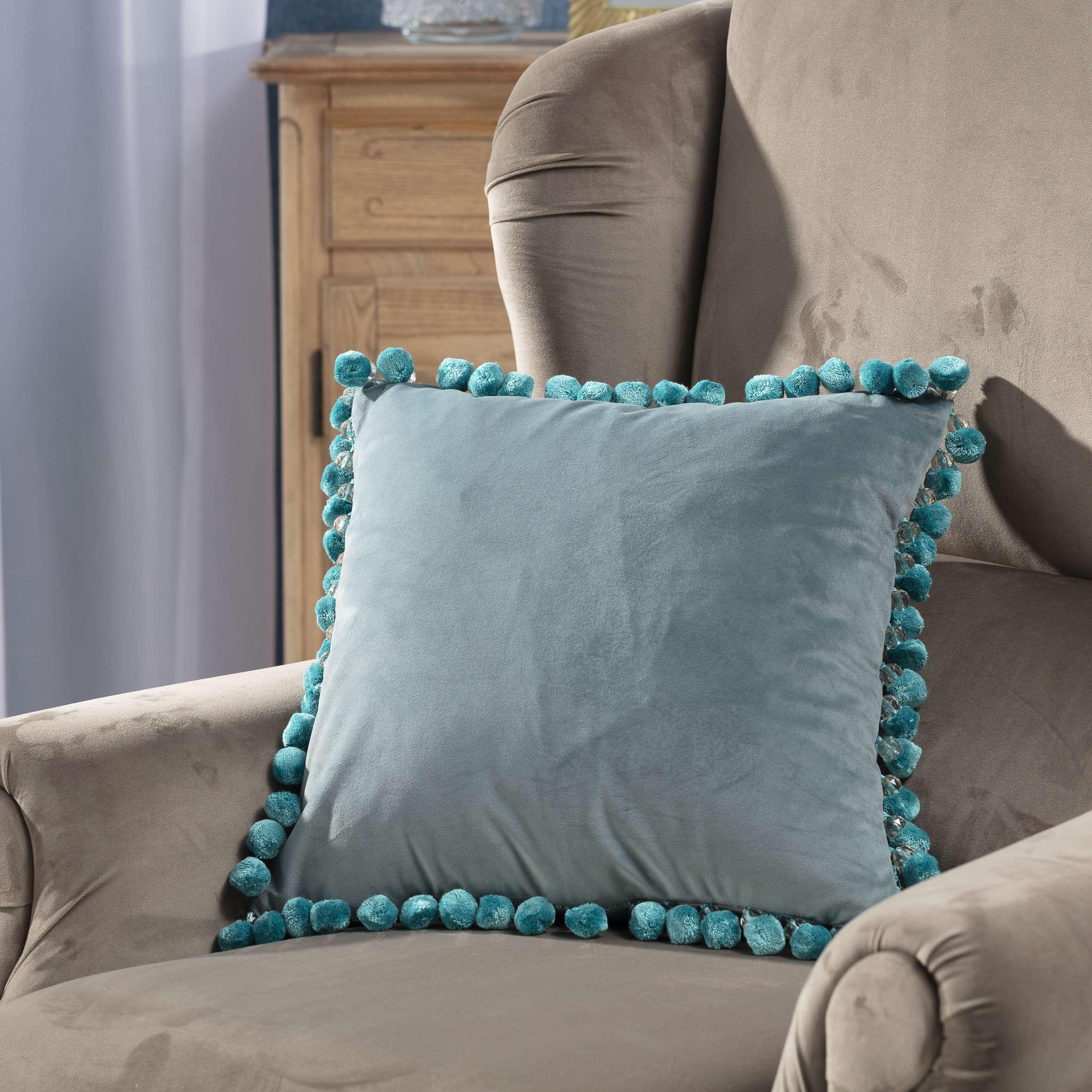 Obliečka Glamour 43x43cm V kolekcii Velvet, tkanina: 704-18