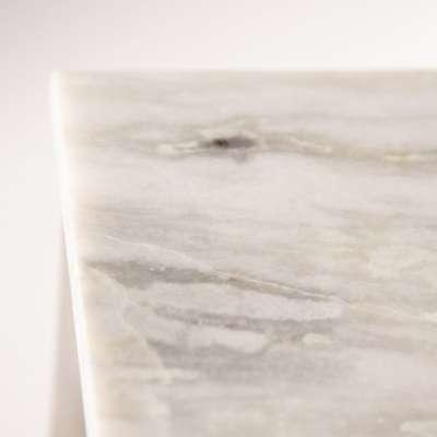 Stolik pomocniczy Meris Marble wys. 46cm
