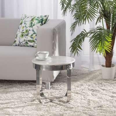 Stolik pomocniczy Parker wys. 41,5cm marble