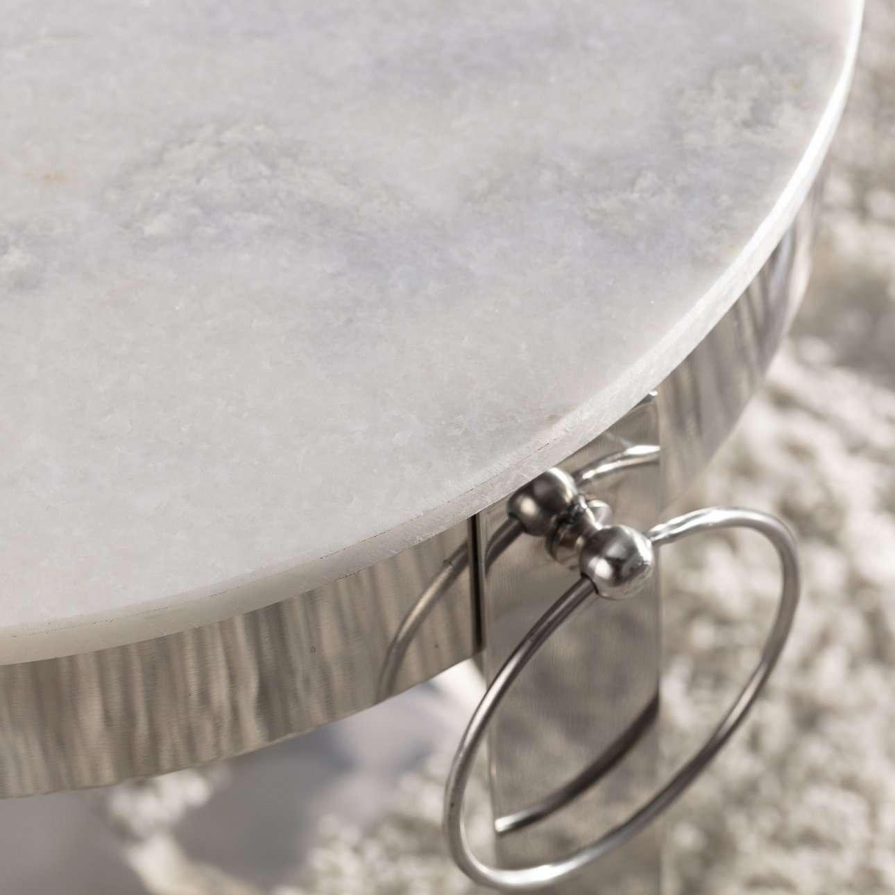 Beistelltisch Parker 41,5cm marble