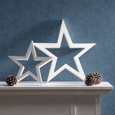 Dekoration Star white 33cm