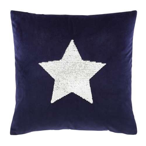 Kissenhülle Sequin Star 43x43cm