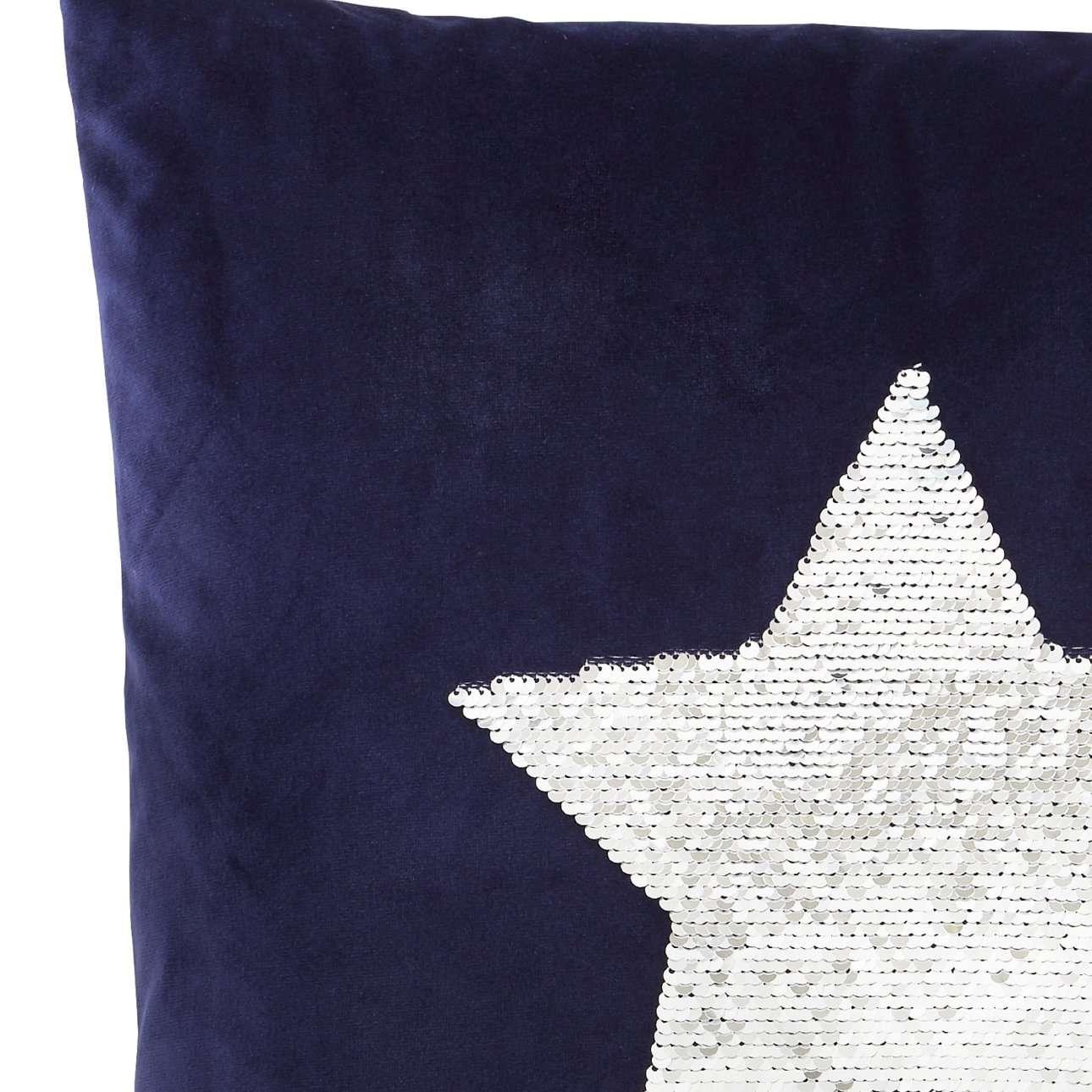 Poszewka Sequin Star 43x43cm
