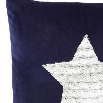 Kissenhülle Sequin Star 43x43cm Geschenke - Dekoria.de